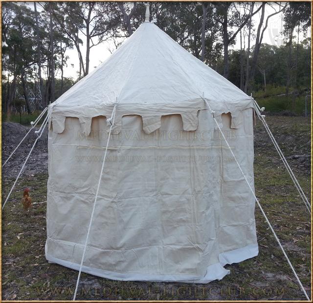 Pavilion - White Round Tent (3m diameter)