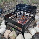 Roman cooking stove box