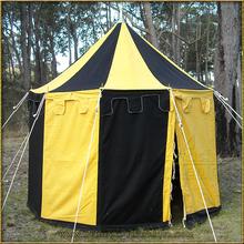 Pavilion - Striped Round Tent (3m diameter)