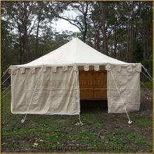 Square marquee tent (5m diameter)