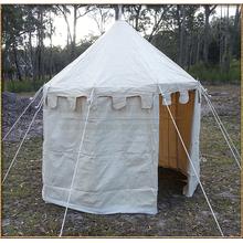 Pavilion - White Round Tent (3m diameter) Entrance Open