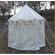 White Pavilion - Round Tent (3m Diameter)