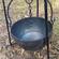 cauldron on tripod