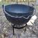 Cauldron on small tripod