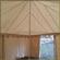 Square marquee tent (5m diameter) Entrance Interior