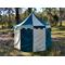 Green + White Pavilion - Striped Round Tent (3m diameter)