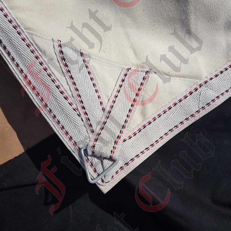 Tarpaulin - Canvas 5m x 5m Corner  Stitching